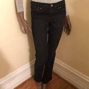 WHBM black noir jeans 4
